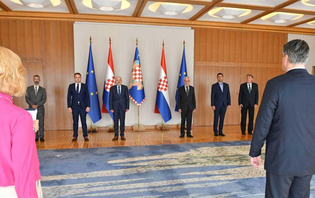 Predsjednik Milanović primio izaslanstvo Kluba Sinjana Zagreb